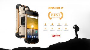 Rugged Ulefone Armor 2 (6GB RAM) disponible en Presale por $259.99