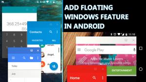 Cómo añadir la función de ventanas flotantes en Android (3 métodos)