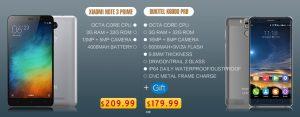 A prueba de salpicaduras, 6000mAh Oukitel K6000 Pro comienza la pre-venta
