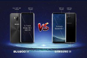 ¿El Samsung S8 vale 5 veces más que el Bluboo S8?