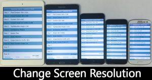Cómo cambiar la resolución de la pantalla de Android sin necesidad de arraigar