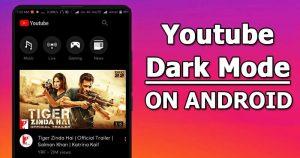 Cómo activar el modo oscuro de YouTube en Android ahora mismo