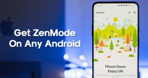 Cómo obtener el ZenMode de OnePlus 7 Pro en cualquier teléfono inteligente Android